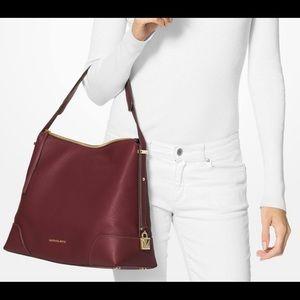 MICHAEL Michael Kors Crosby Pebbled Leather Bag